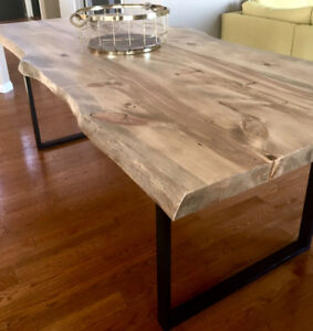 SPECIAL WINTER SALE 20OFF CUSTOM RUSTIC AND CONTEMPORARY TABLES