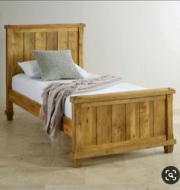 Oak Furniture Land Baku Solid Mango Single Bed Frame