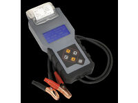 Sealey BT2012 Digital Battery & Alternator Tester With Printer 12v