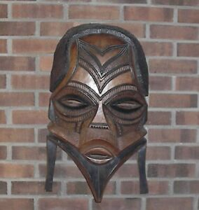 Authentic Hand Carved Tribal Zulu Mask