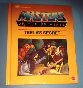 Vintage 1985 Masters of the Universe Hardcover Book He-Man Teela