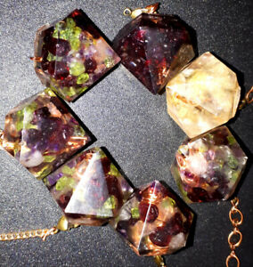 Handcrafted genuine orgonite pendulums for sale