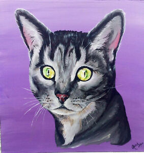 Pet Portrait Artist - Pet Portraits - Pet Art - Painting