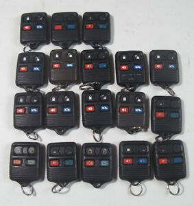 FORD CAR KEYLESS ENTRY REMOTE CONTROLS (CAR KEY FOBs) Kitchener / Waterloo Kitchener Area image 1