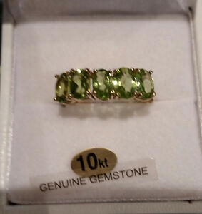 BEAUTIFUL NATURAL PERIDOT AT HIDDEN TREASURE