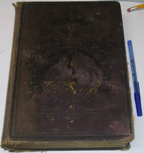 c1870 Antique Book The life of the blessed virgin mother of God