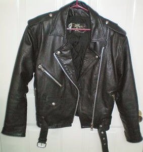 Leather Motorcycle Jacket by The Leather Ranch