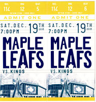 Fundraiser Draw for Leaf Hockey Package Tickets $5