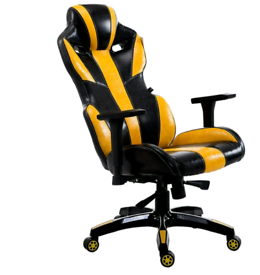 CTF PRO BUMBLE-BEE High Back Racing Gaming Computer Desk Chair.