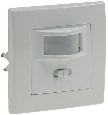 Unterputz Bewegungsmelder 2-Draht 160° LED geeignet, Infrarot PIR UP