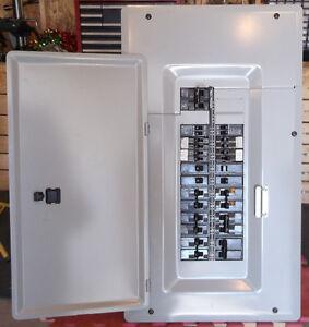 Panneau siemens 100AMP 24/48 circuits avec main breaker