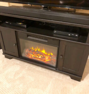 Fireplace/TV unit
