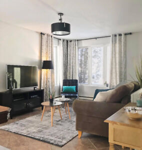Saguenay - Maison meublé à louer de 9 pièces (4 chambres)