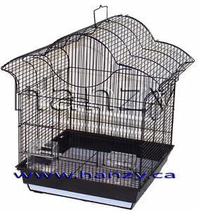 Cage Neuve Noir  pour pinsons, perruches, canaries, inséparable
