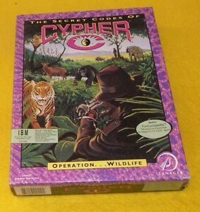 Cypher - Operation Wildlife PC Game - Vintage