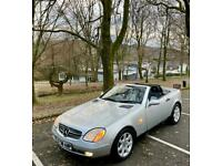 1998 MERCEDES SLK SLK230 11STAMPS LEATHER IMMACULATE SOON TO BE CLASSIC Auto Con