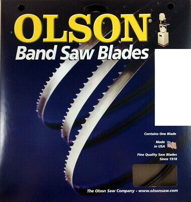 Olson Band Saw Blade 62 Long X 18 Wide 14 Tpi Use For Fine Finish Tight Cuts