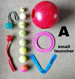 (4 sets) assorted dog toys