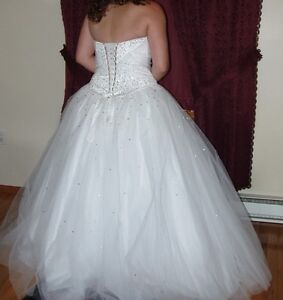 White Prom Gown