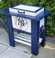 New York Yankees Patio Cooler Chest