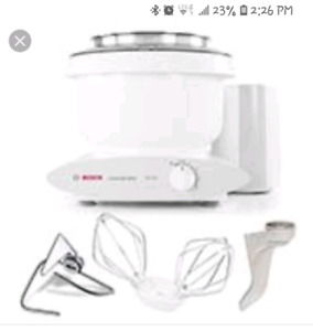 Looking for bosch mixer