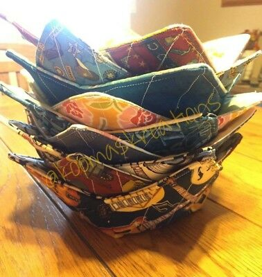 Microwave Bowl Cozy  Microwave Bowl Cozies  Reversible  Trivets  Hot Pads