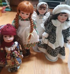 China dolls   $10 each doll.