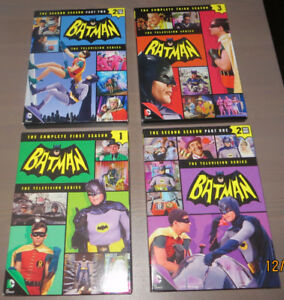 BATMAN COMPLETE TV SERIES 4 VOLUMES