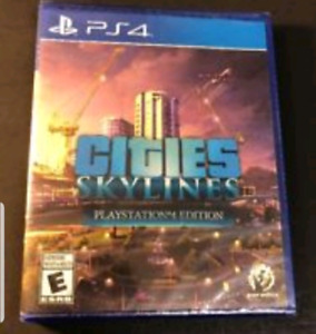 Looking For Cities Skylines PS4 Game