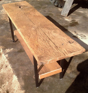 Threshing Table - Shown without Finish Oil