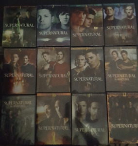 Tv shows for sale - Supernatural and The Vampire Diaries