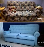 Upholstery  woodworking services