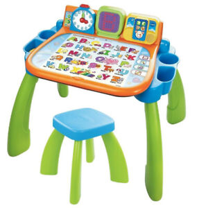ACTIVITY DESK VTECH COMPUTER TOUCH AND LEARN TODDLER TOY EASEL