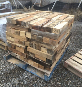 Skids of Hardwood Firewood