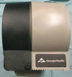 GP Micro-Twin Double Roll Covered Bath Tissue Dispenser, Smoke Stratford Kitchener Area image 2
