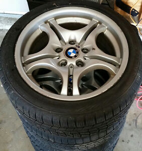 Winter tire and wheel set. 225/45 17 BMW 330 328 325