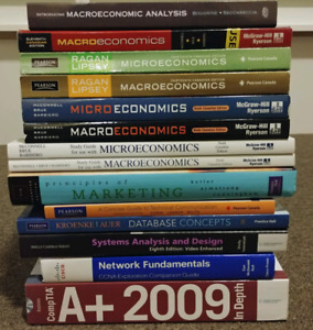 Various Business/Commerce/Ecomonics/IT Textbooks for Sale!