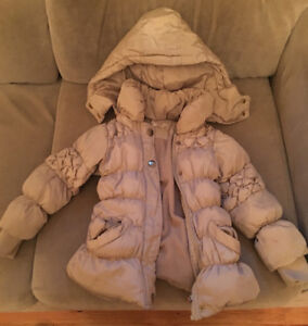 Girls 12-18month winter coat / Manteau d'hiver flour fille12-18m