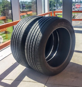 Set of two 225/50/17  Michelin Pilot MXM4 93V all season tires