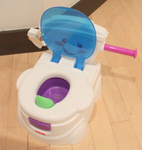 Price potty with rewarding sounds in excellent, clean condition
