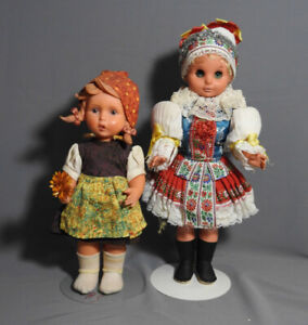 VINTAGE GERMANY DOLLS LOT, GOEBEL HUMMEL GRETL