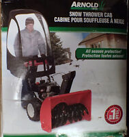 New Snow Thrower Cab for 1 and 2-stage snow throwers