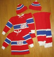 CHANDAIL -BAS -TUQUE 4-6 ans/years...SWEATER -STOCKINGS -TUQUE
