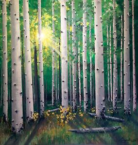 Original Landscape Painting By Escape606 Art Studio
