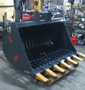 EXCAVATOR SKELETON BUCKET - CANADIAN BUILT - ALL SIZES