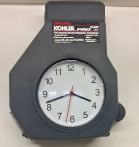 Engine Cover Wall Clock