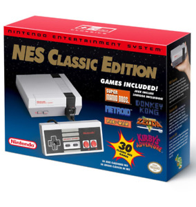 New In Box NINTENDO NES MINI CLASSIC CONSOLE Receipt Incl.