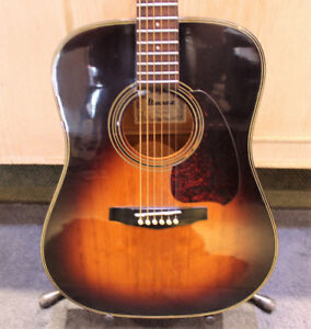 IBANEZ V310 TV ACOUSTIC GUITAR