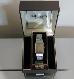 Vintage Seiko ultra slim wrist watch late 70's