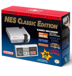 New Authentic NINTENDO Mini NES Classic Console WITH RECEIPT